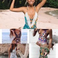 Ashgaily 2021 Neue Einteilige Badeanzug Sexy Cartoon Gedruckt Bademode Frauen Badeanzug Strand Backless Monokini Badeanzug Weibliche W1221