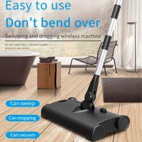 Wireless Electric Floor Mop Vacuum Cleaner Home Robot Vacuum Cleaner Sweeping Machine 2 in 1 Handpush Dry Wet Sweeper Mop