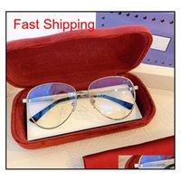 고품질 228 Unisex 큰 파일럿 선글라스 프레임 60-13-145 처방 안경을위한 패션 메탈 FullRim 다중 co Qylltg Nana_Shop