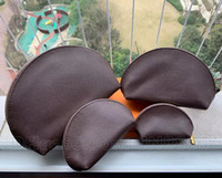 حار بيع 4 قطعة / المجموعة براون المرأة أكياس التجميل المنظم ماكياج حقيبة سفر الحقيبة المكياج حقيبة السيدات مخلب المحافظ organizador