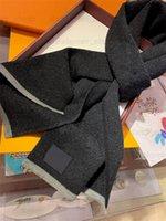 2021 mit Box Geschenkbeutel Beleg Tag Top Qualität Schal für Frauen Winter Herren Schal Luxe Pashmina Warme Mode Wolle Kaschmirschals 21ss