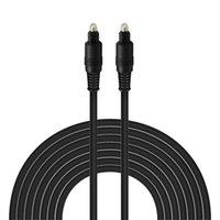 Câble optique Toslink Audio OD4.0mm Gold plaqué or 1,5 m 2m 3 m 5M Digital SPDIF MD DVD