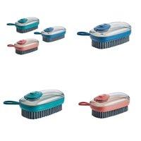 자동 충전 장치 청소 브러시 다기능 플라스틱 소프트 세척 신발 옷 브러쉬 가정용 청소 브러쉬 83 J2