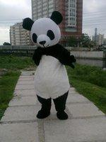 2021 adulto cinese panda animale costume da mascotte orso cartoon vendita calda vestito vestito vestito nuovo anno primavera giorno carnevale natale festival gioco