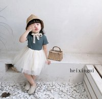 Fashion Girl Skirt Lace Dress Children Clothes Kids Clothing...