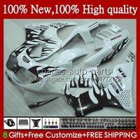 Bodys för Honda CBR 893RR 900RR CBR893RR 1994 1995 1996 1997 95HC.67 Black Flames CBR893 CBR900 CBR 900 893 RR CBR900RR 94 95 96 97 FAIRING