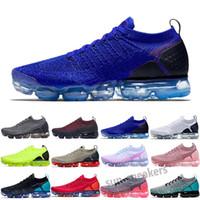 Vapormax 2.0 Quente 2018 2019 Chaussures MOC 2 Loweless 2.0 Correndo Tênis Triple Black Mens Mulheres Sneakers Treinadores de Almofada Zapatos 36-46 S25