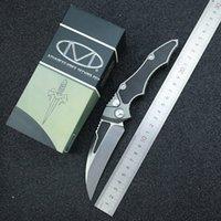Microtech открытого тактического нож D2 лезвия ручки авиации алюминий + углеродное волокно 58 HRC автоматического кемпинг EDC нож