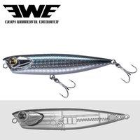NEUE EWE AR-C Floating Bleistiftköder 85 / 100mm 10 / 14g Topwater Stickbait Surface Popper Wobbler für Forellen Bass Pike FishingLine 201106