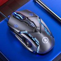 الفئران est g5 المهنية مريح الألعاب ماوس 7 لون الخلفية usb سلكي صامت ل gamer 3200 dpi pc / laptop