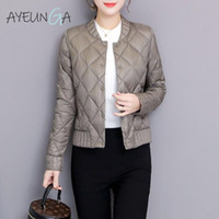 Ultra Light White Duck Down Jackets Autumn Winter Women Plus...