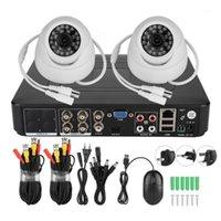 Systèmes 720P 2CH COAXIAL AHD SURVEILLANCE KIT DE SECURITE DE SECURITE VIDÉO HD 100W Pixels Caméra1