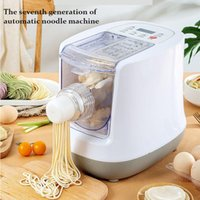 automatic fresh Pasta maker machine intelligent noodle home manual dough knead electric steel roller press sheeter multifunction