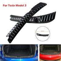 자동차 리어 트렁크 가드 Tesla 모델 3 리어 트렁크 범퍼 보호기 액세서리