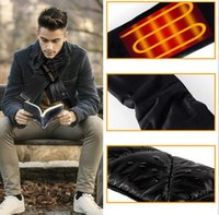 Smart Heated Scarf Christmas gift Outdoor Winter Electric charging Scarf Warm outdoor walking skiing waterproof Washable Smart scarfs 15pcs