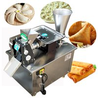 2021popular in USA Grand Empanada faisant la machine Punjabi Momo Samosa Faire la machine Gyoza Former Machine4800PCS / H