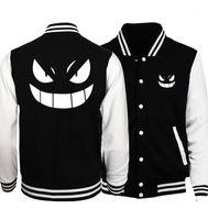 Anime Uzumaki Naruto Beyzbol Üniforması Siyah Beyaz Ceket Erkek Koleji Kılıç Sanatı Çevrimiçi Sao Ceketler Cep Canavar Coat1