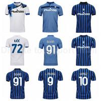 2020 2021 Atalanta Soccer Jersey 9 Muriel 91 Duvan 10 Gomez 72 Ilicic 88 Pasalic 8 Gosens 18 Malinovskyi Toloi Camicia da calcio Kit
