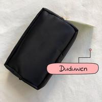 プラスチックダストバッグコレクションアイテムと化粧品袋を持つ古典的なPra Buckle Makesup Storageバッグのジッパー