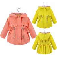 Sweats à capuche de filles décoration sweat-shirt pour fille à manches à capuchon à capuchon à capuchon à capuchon à capuche pour enfants enfants enfants vêtements de vêtements pour enfants1