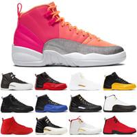 Yeni Ayakkabılar 12 12 S Erkek Ayakkabı Fiba Ters Taksi Oyunu Kraliyet Fransız Mavi Erkek Eğitmenler Sıcak Yumruk Açık Spor Sneakers 7-13