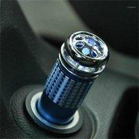 자동차 공기 청정기 청정기 산소 바 음성 이온 발생기 푸른 빛 장식으로 연기와 냄새 포름 알데히드 이외에