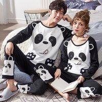 New Winter cotone pigiama set coppie manica lunga maschio sleepwear tondo scollo donna pigiama pijama pigiama pigiama uomo pigiama da uomo homewear11