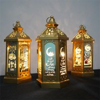 Ramadan Lamp EID Mubarak Ramadan Party LED Hanging Lanterns ...