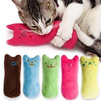 Dientes Moler Catnip Toys Funny Interactive Pelush Cat Toy Pet Kitten Masticar Vocal Juguete Garras Thumb Bite Cat Menta Para Gatos Calientes