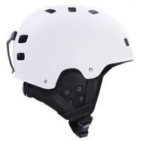 Лыжные шлемы для взрослых зимний мотоцикл лыжа на лыжах на лыжах сноуборд