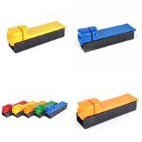 Kunststoff Zigarettenfilter-Rollen-Maschine Push-Pull-Hand Cigare Maker Einrohr-Roller Rauchen Gadgets Tragbare 2 5ds G2