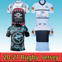 2020 Cronulla-Sutherland Sharks Nice Rugby Jersey 20 21 Jersey indígena Nrl Austrália Rugby Jerseys S-5xl