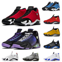 2020 nouvelles chaussures Baketball Gym Bleu 14 14S Jumpman Gym Gym Rouge Turbo Doernbecher Black Multi Couleur Blanc Chartreuse Indiglo Hommes Hommes Mens Sneakers