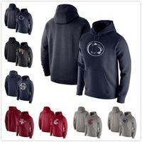 Penn State Nittany Löwen Hoodies Navy Wake Forest Dämon Deacons Club Fleece Pullover Hoodie Washington Cougars Mens Sweatshirt Blau