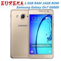 Оригинальный Samsung Galaxy On7 2015 G6000 5.5Inches 1.5GB RAM 16GB ROM LTE 4G 13.0MP окт ядро