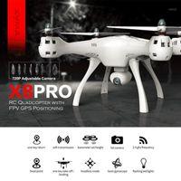 SYMA X8PRO GPS Dron WiFi FPV con fotocamera da 720p HD Telecamera regolabile Drone 6Axis Altitudine Hold X8 Pro RC Quadcopter RTF1