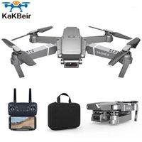 Kakbei E68 DRONE HD Weitwinkel 4K WIFI 1080P FPV DRONE Video Live-Aufnahme Quadcopter Höhe, um die Kamera gegen E581 aufrechtzuerhalten