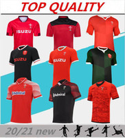 2020 2021 Rugby Dünya Kupası Jersey Galler Kırmızı Formalar 20 21 Rugby League Sevens Galce Ev Uzakta Rugby Gömlek Eğitim Takım Boyutu S-XXXL