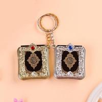 Party Favorit 10st Baby Shower Arabiska Språk Real Bible Keychain Chopening Gift Dop Return Souvenir Söt Giveaway