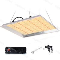 LED Cultive Lights 100W / 150W / 300W / 450W Llenaje de atenuación completa Spectrum inteligente Control remoto Smarthouse Planting Reemplace HPS / HID HIDROPONICS DHL