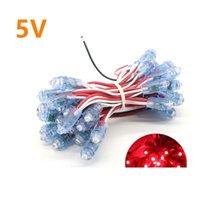 50pcs string LED Lighting Modules F8 12mm Width Single Color IP65 Waterproof Led Pixel Light For Sign Letter