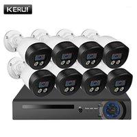 KERUI 5MP HD 8CH FACE RECORD KITS POE H.265 CCTV Système de sécurité CCTTV Caméra IP Caméra d'extérieur SURVEILLANCE VIDÉO DE VIDÉO EXTÉRIEURE NVR Kits1
