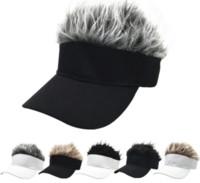 Capas de pelota de pelucas en línea Hombre de tendencia de la calle europea y americana de los hombres con sombrero de sol al aire libre para la venta