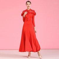 무대 착용 볼룸 댄스 경쟁 복장 왈츠 드레스 표준 여성 1