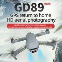 4K / 6K videocamera HD GPS Quadrocopter con giunto cardanico regolabile EXA MAX Drone ostacolo Sensing Quadcopter Mini Follow Me Drones RC Dron