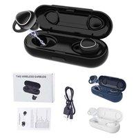 Yeni Xi7 TWS Kablosuz Kulaklık Bluetooth 5.0 Ses 3D Stereo Kulakiçi Mini Spor MIC Şarj Kutusu Ile Su Geçirmez Kulaklık Kulaklıklar