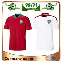 2020 أوروبي المغرب لكرة القدم الفانيلة 20/21 مايلوت دي القدم زييك بوتايب كاميسيتا دي فوتبول بوصوفة الأحمدي لكرة القدم قميص