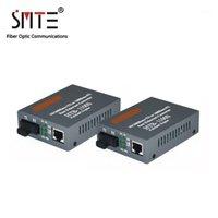 Optischer Medienwandler HTB-1100S 25km 10/100 Mbps RJ45 Single-Modus Duplexfaser TX RX SC 1550NM1