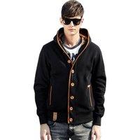Новая толстовка мужская мода толстовки мужские повседневные хлопчатобумажные кардиган уличная одежда 2021 новый с капюшоном пуловер фитнес куртки человека плюс размер