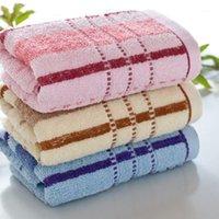 Nova toalha de algodão macio Fábrica de toalhas de venda 14 Toalhas fracas de espessura amigável de pele Absorventação presentes de publicidade de mão de trabalho Toalha de rosto1